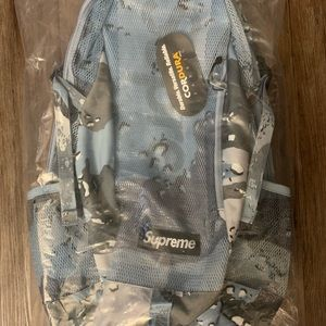 NEW SS20 Supreme blue camo backpack